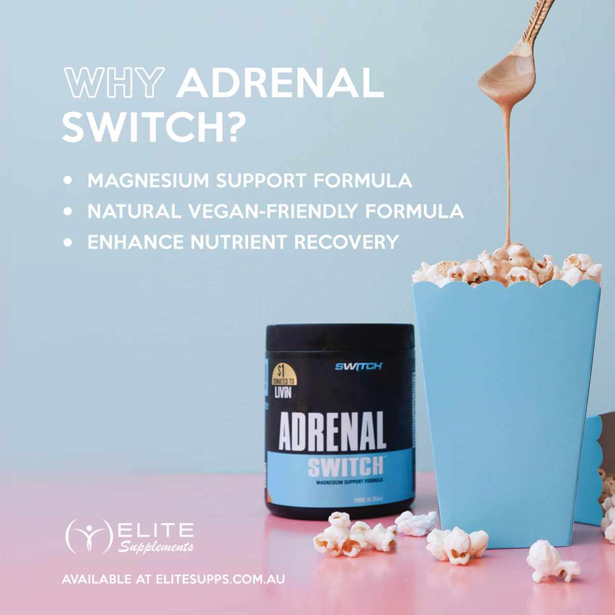ADRENAL SWITCH #1 RECOVERY SUPPLEMENT